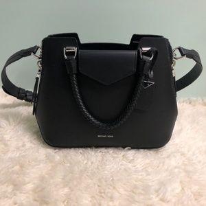 Michael Kor's Black Leather Handbag